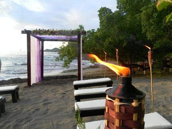 Villas Sol Hotel & Beach Resort: our wedding set up! all the details were beautiful!