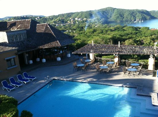 Villas Sol Hotel & Beach Resort: the view from the room!
