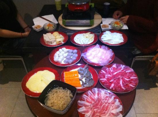 Bon Endroit : fondue chinoise