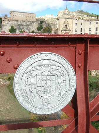 Parador de Cuenca: on the bridge looking at Parador