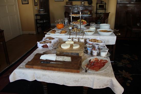 Bricco dei Cogni: splendida colazione