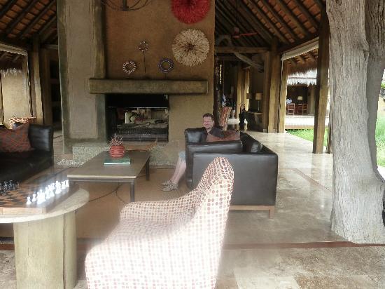 Kapama River Lodge: Living room