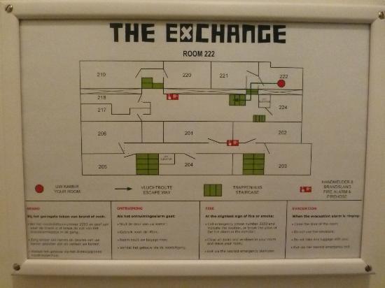 Hotel The Exchange: Floor plan