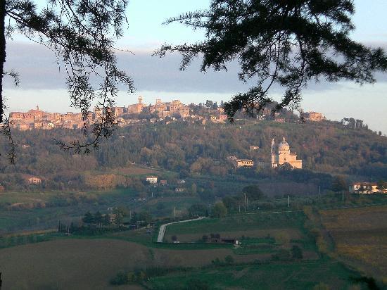 Agriturismo Villa Mazzi: La vista dalla Loggia.