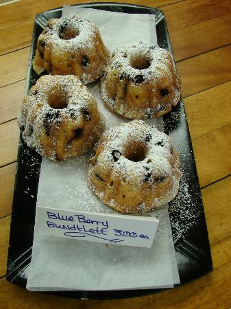 The Mill Stream Deli, Bakery & B.B.Q.: blueberry mini bundts