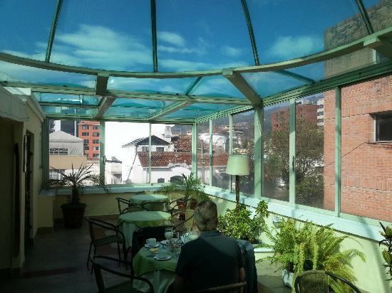 City Art Hotel Silberstein: Frühstücksraum