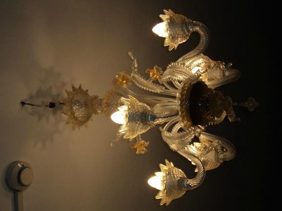 Hotel Airone: lampadario