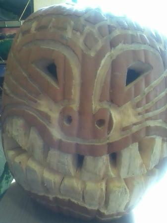 Days Inn Missoula Airport : Pumpkin that Guests Carved