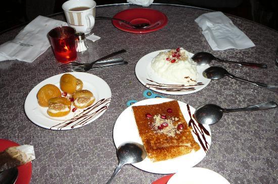 Turkish Cuisine: Deserts