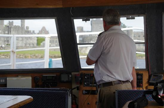Corrib Cruises : Captain Patrick Storytelling At Ashford Castle