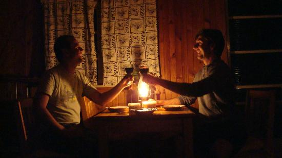 Zur alten Mine: Romantik bei Kerzenschein & Kaminfeuer