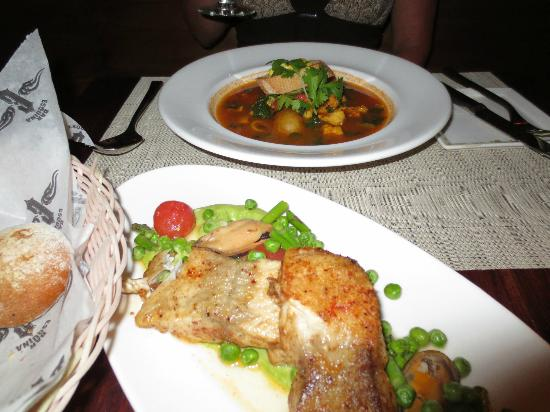 Bar Esquina: Bouillabaise and catch of the day
