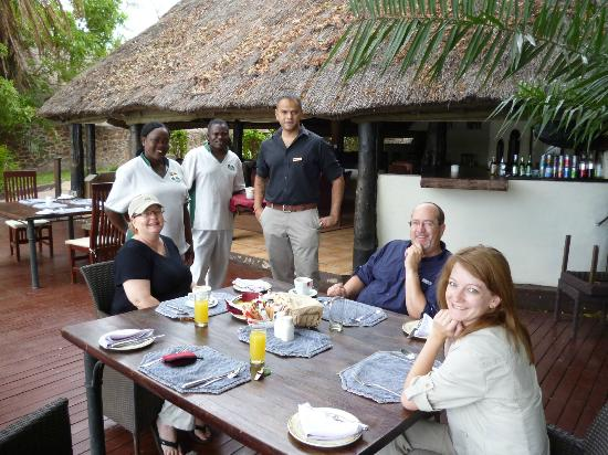 Thorntree River Lodge: Our particular dietary needs were catered to with a smile