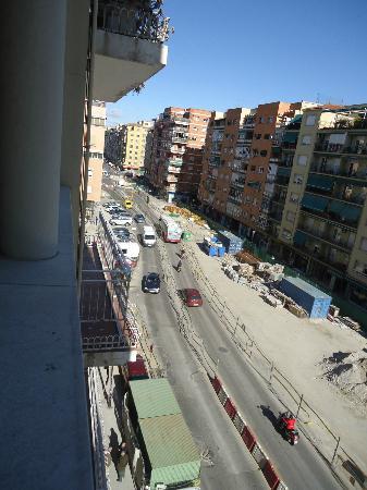 Rallye: vue sur l'avenue Ronda