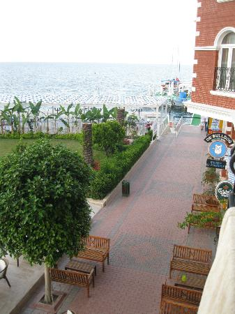 Orange County Resort Hotel Kemer: View from my room