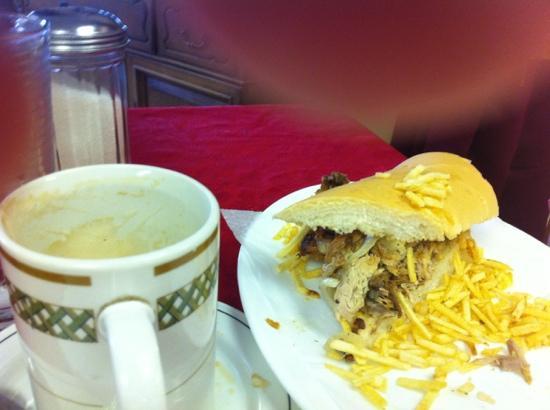 Florida Cafe Cuban Cuisine: pork sandwich
