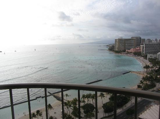 Waikiki Beach Marriott Resort & Spa: View from our room