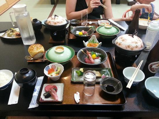 Oyado Yamakyu: Dinner