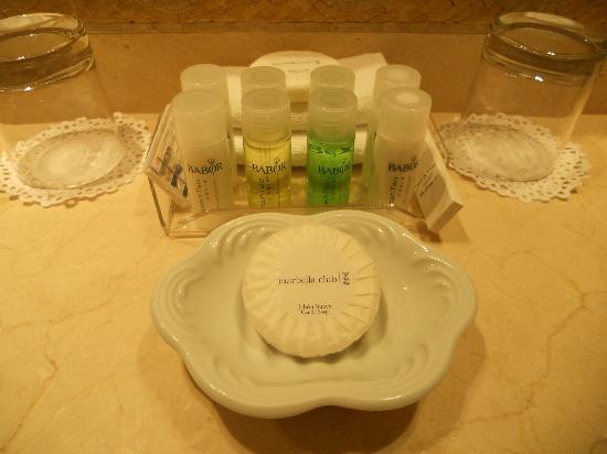 Marbella Club Hotel: Toiletries