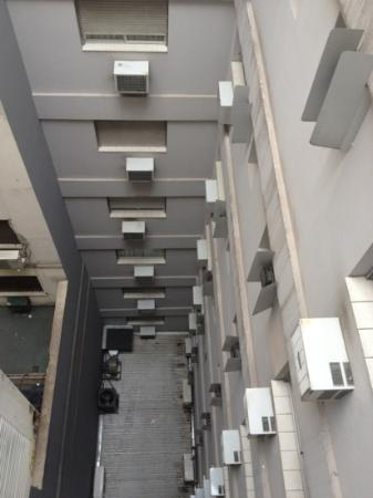 Aspen Suites Hotel: Blick aus dem Zimmerfenster