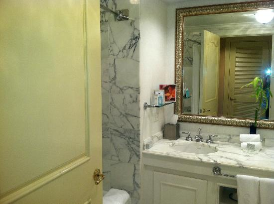 The Ritz-Carlton, Sarasota: Left side of bathroom