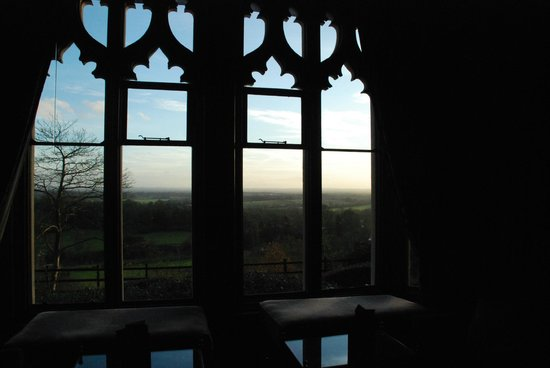 Nutfield Priory Hotel & Spa: view from bar window