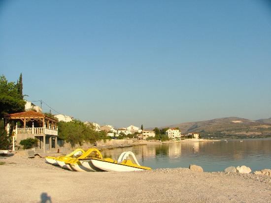 Villa Malo More: Пляж виллы