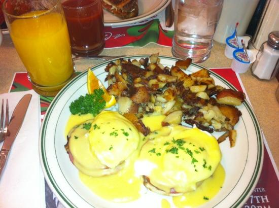 The Waffle Shop: Eggs Benedict