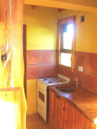 Alto Rolando Apartaments: El duplex cocina