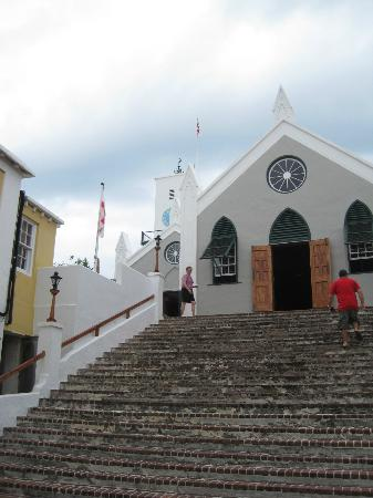 St. George, Bermuda: St. Peter's Church