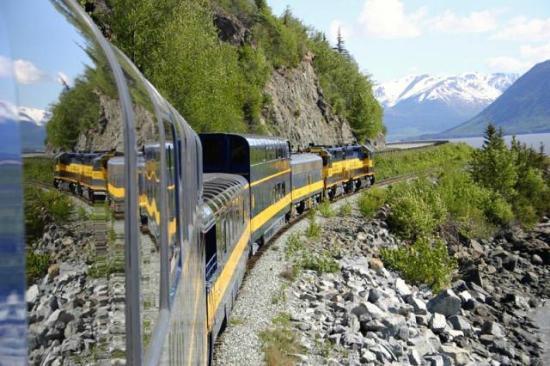 Kim's Forest Bed and Breakfast : Alaska Railroad to Seward