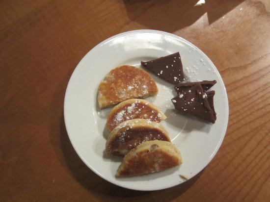 Bistro Betws-y-Coed: Complimentary cookies