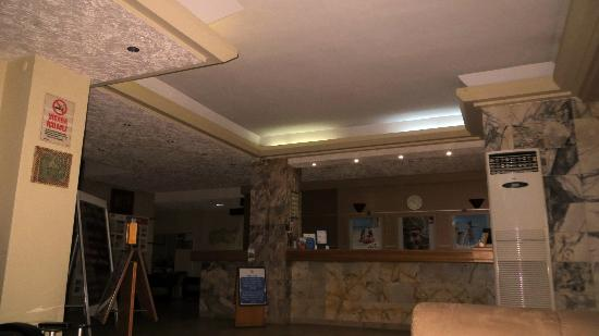 Sozer Hotel: Reception area