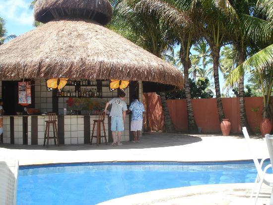 Pousada Tabapitanga: Bar de la piscina