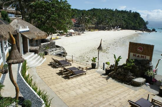 Nami Resort: terrasse de l'hotel