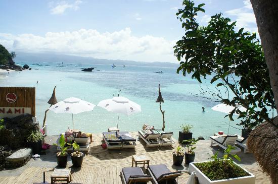 Nami Resort: terrasse de l'hotel 2