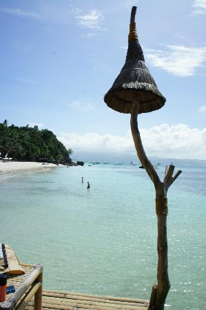 Nami Resort: vue de la terrasse de l'hotel