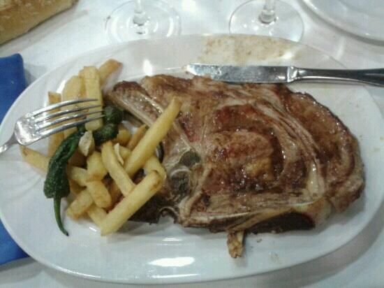 Restaurante De'galicia: Chuletón de buey
