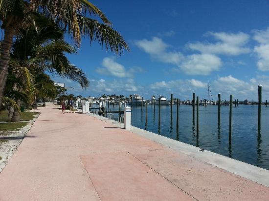 Abaco Beach Resort and Boat Harbour Marina: marina boardwalk
