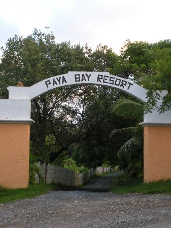 Paya Bay Resort: Paya Bay Entrance