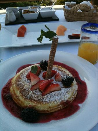 Hotel Cinco Sentidos: One of the wonderful breakfasts