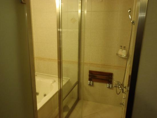 Hotel Queen Incheon Airport : bath + shower