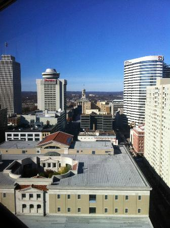 Renaissance Nashville Hotel: View from room (Tennessee capitol)