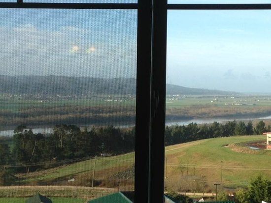 Bear River Casino Resort: view from our window
