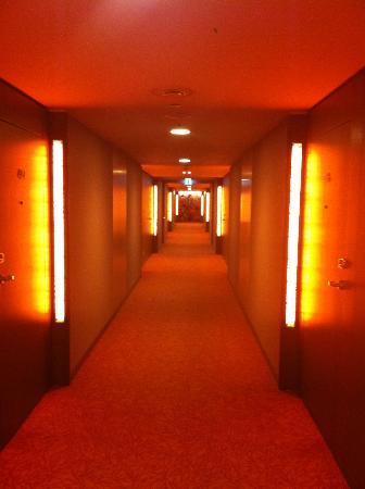 Austria Trend Hotel Savoyen Vienna: corredor