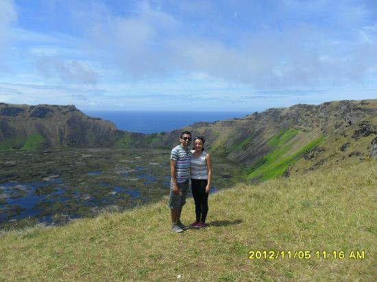 Cabanas Manatea: Volcan Rano Kau