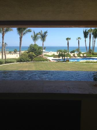 Casa del Mar Golf Resort & Spa: view of our jacuzzi on the patio