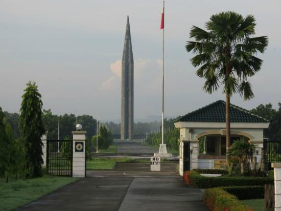 Capas shrine from the entrance