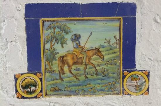 Museum of the History of Ponce: Original wall tile