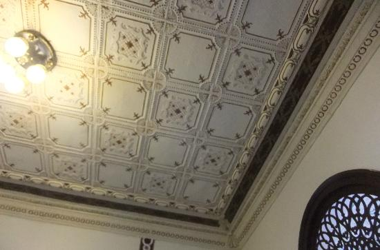 Museum of the History of Ponce: Ceiling detail